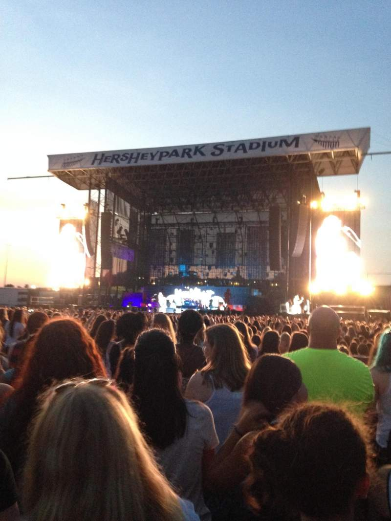 Seating view for Hershey Park Stadium Section D Row 29 Seat 15