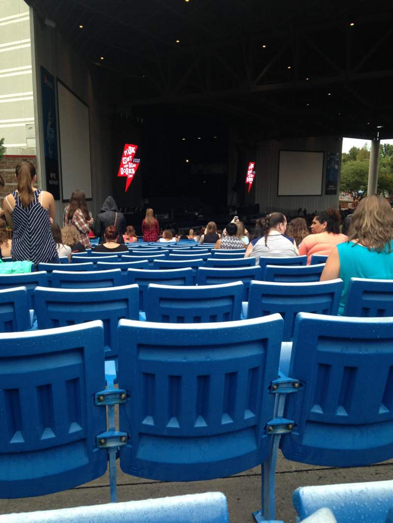 Seating view for PNC Music Pavilion Section 9 Row V Seat 29