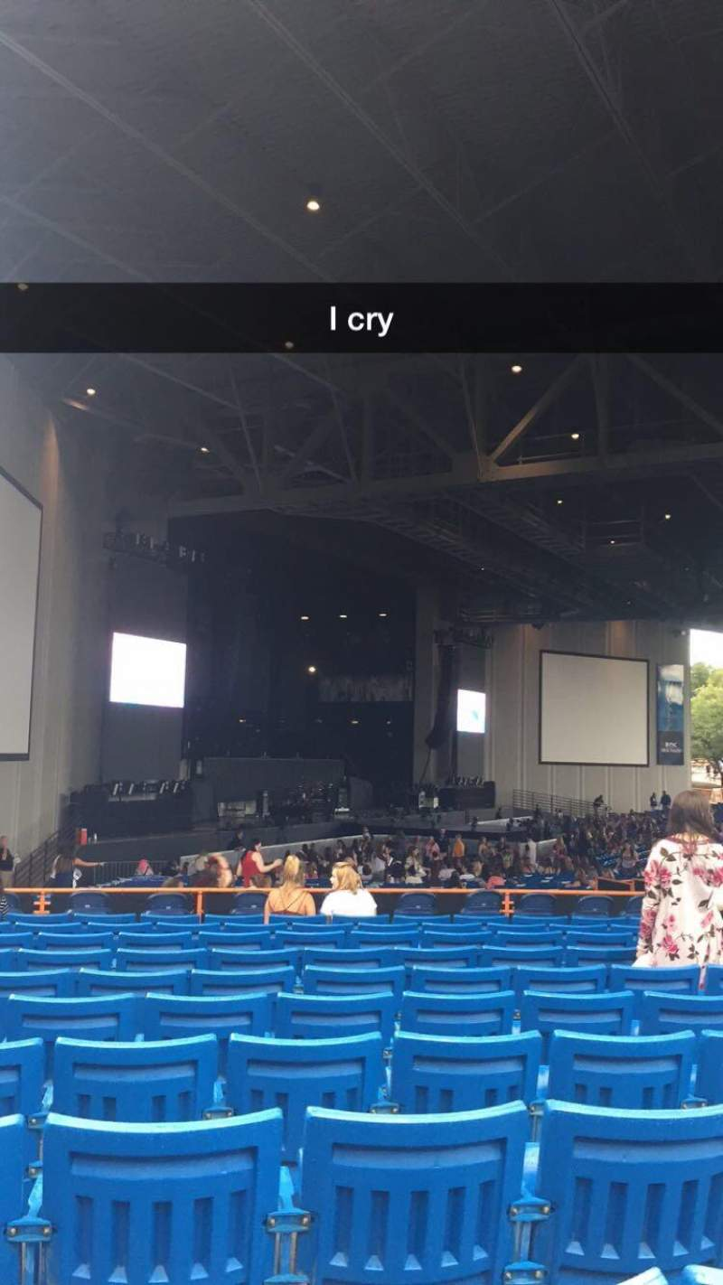 Seating view for PNC Music Pavilion Section 9 Row N Seat 25