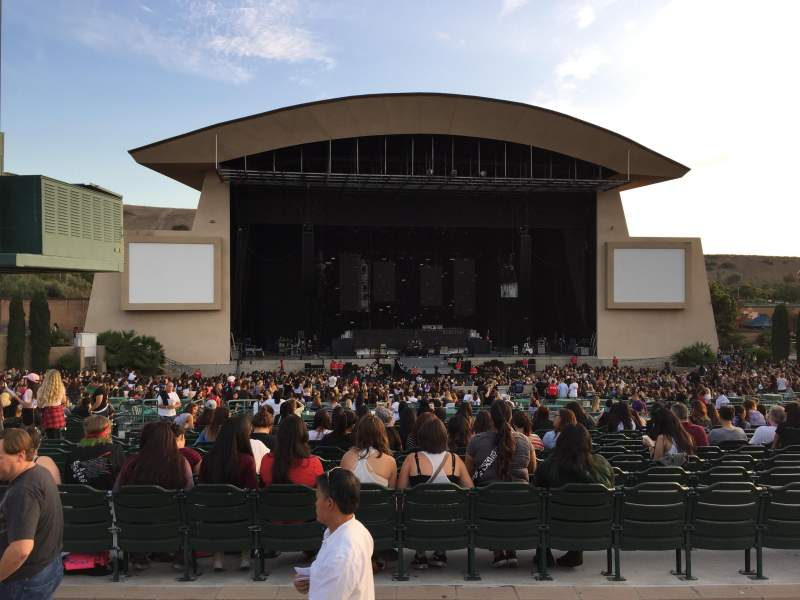 Seating view for Irvine Meadows Amphitheatre Section 303 Row A Seat 50