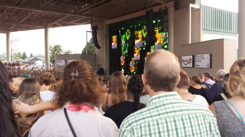 Seating view for Klipsch Music Center Section H