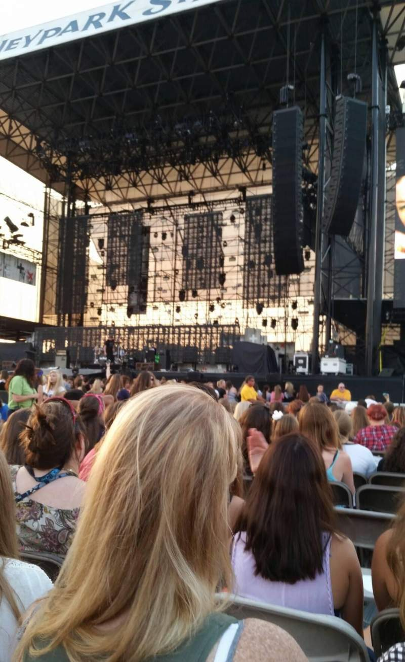 Seating view for Hershey Park Stadium Section A Row 19 Seat 36