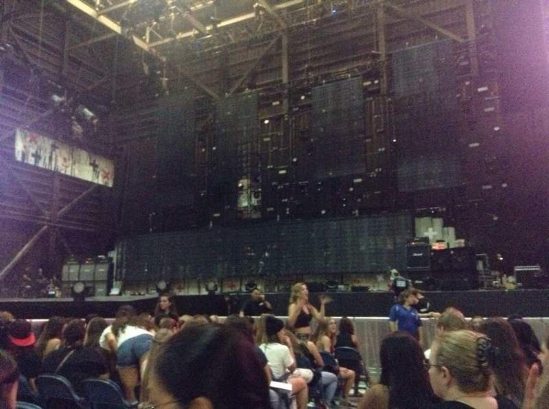 Seating view for MidFlorida Credit Union Amphitheatre Section 3 Row K Seat 3