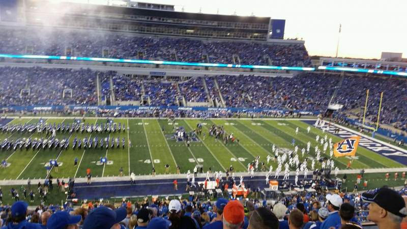 Seating view for Kroger Field Section 205 Row 13 Seat 18