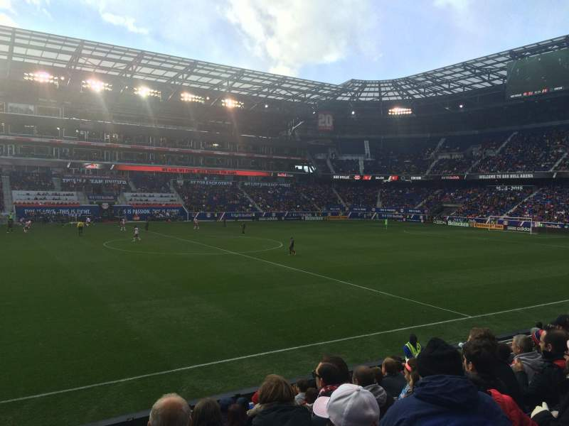 Seating view for Red Bull Arena Section 127 Row 10 Seat 20