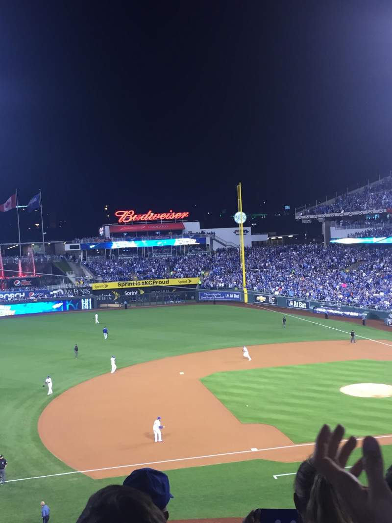 Seating view for Kauffman Stadium Section 305 Seat 2