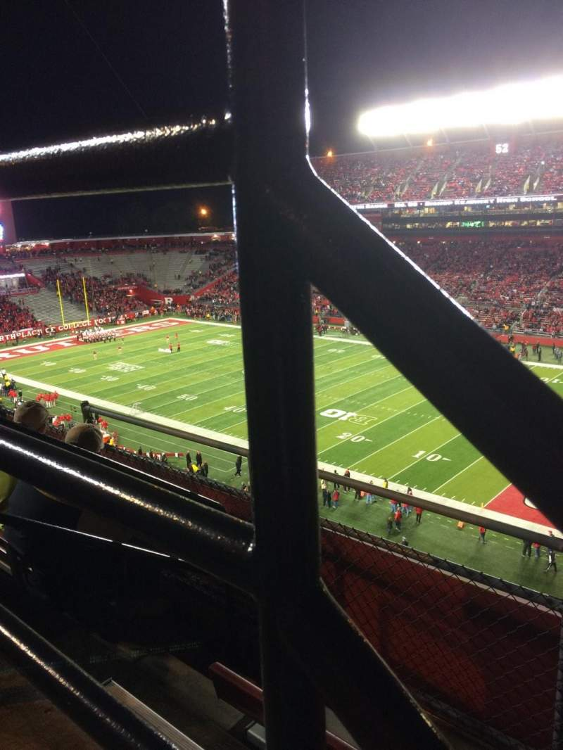 Seating view for High Point Solutions Stadium Section 217 Row 3 Seat 1