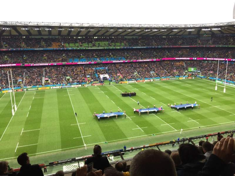 Seating view for Twickenham Stadium Section U35 Row G Seat 219