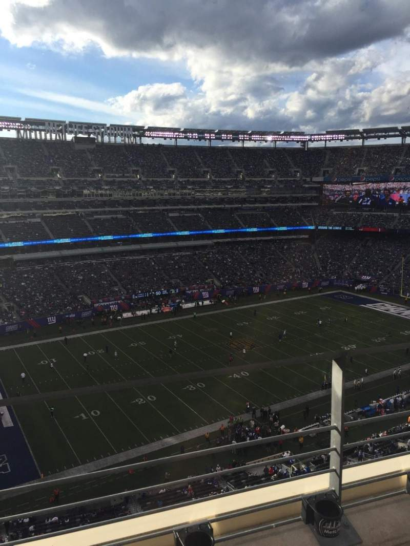 Seating view for MetLife Stadium Section 317 Row 2 Seat 25
