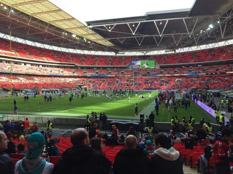 Seating view for Wembley Stadium Section 131 Row 19 Seat 256