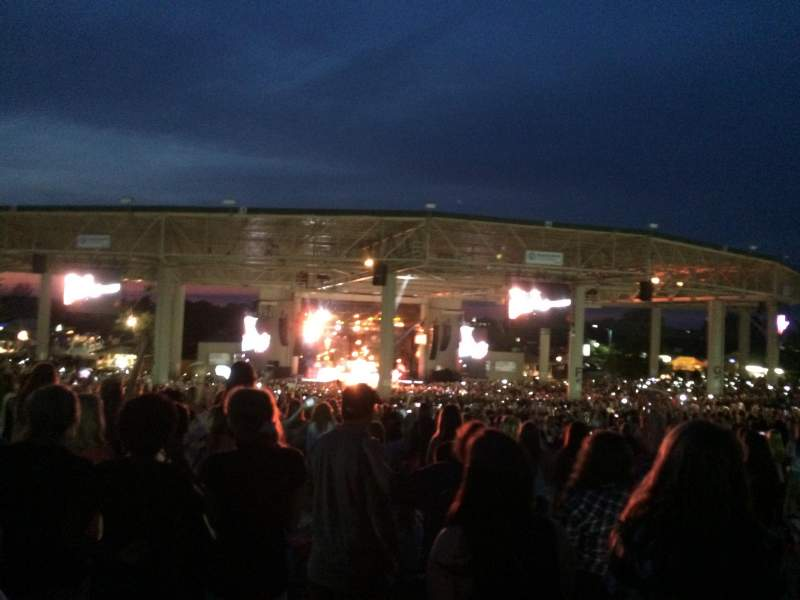 Seating view for Klipsch Music Center Section lawn
