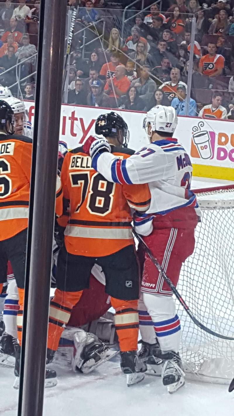 Seating view for Wells Fargo Center Section 105 Row 4 Seat 9