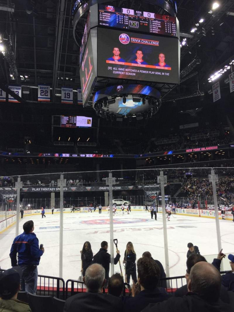 Seating view for Barclays Center Section 17 Row 6 Seat 6