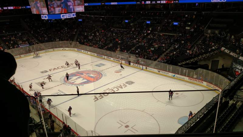 Seating view for Barclays Center Section 203 Row 2 Seat 6