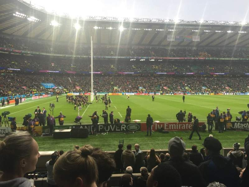 Seating view for Twickenham Stadium Section L9 Row 14 Seat 348