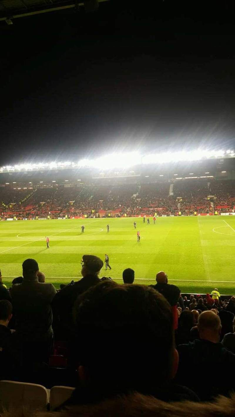 Seating view for Old Trafford Section n2409 Row 16 Seat 63