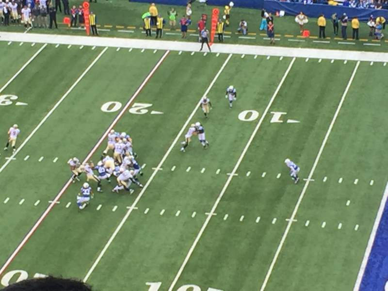 Seating view for Lucas Oil Stadium Section 636 Row 8 Seat 7