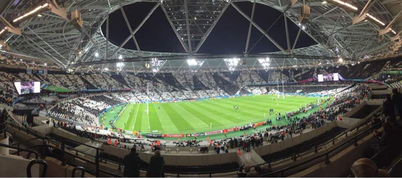 Seating view for London Stadium Section 204 Row 53 Seat 544