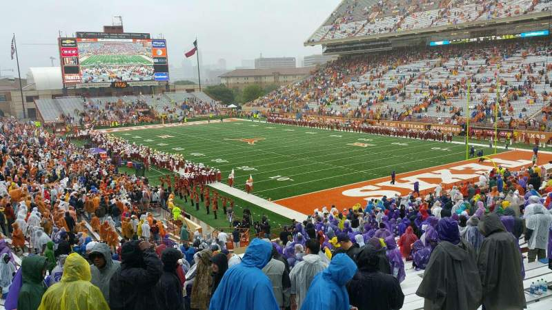 Seating view for Texas Memorial Stadium Section 18 Row 38 Seat 36