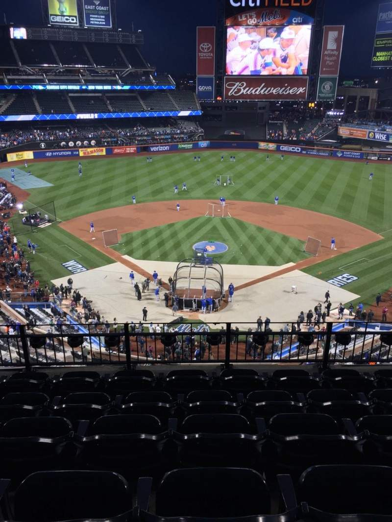 Seating view for Citi Field Section 414 Row 6 Seat 7