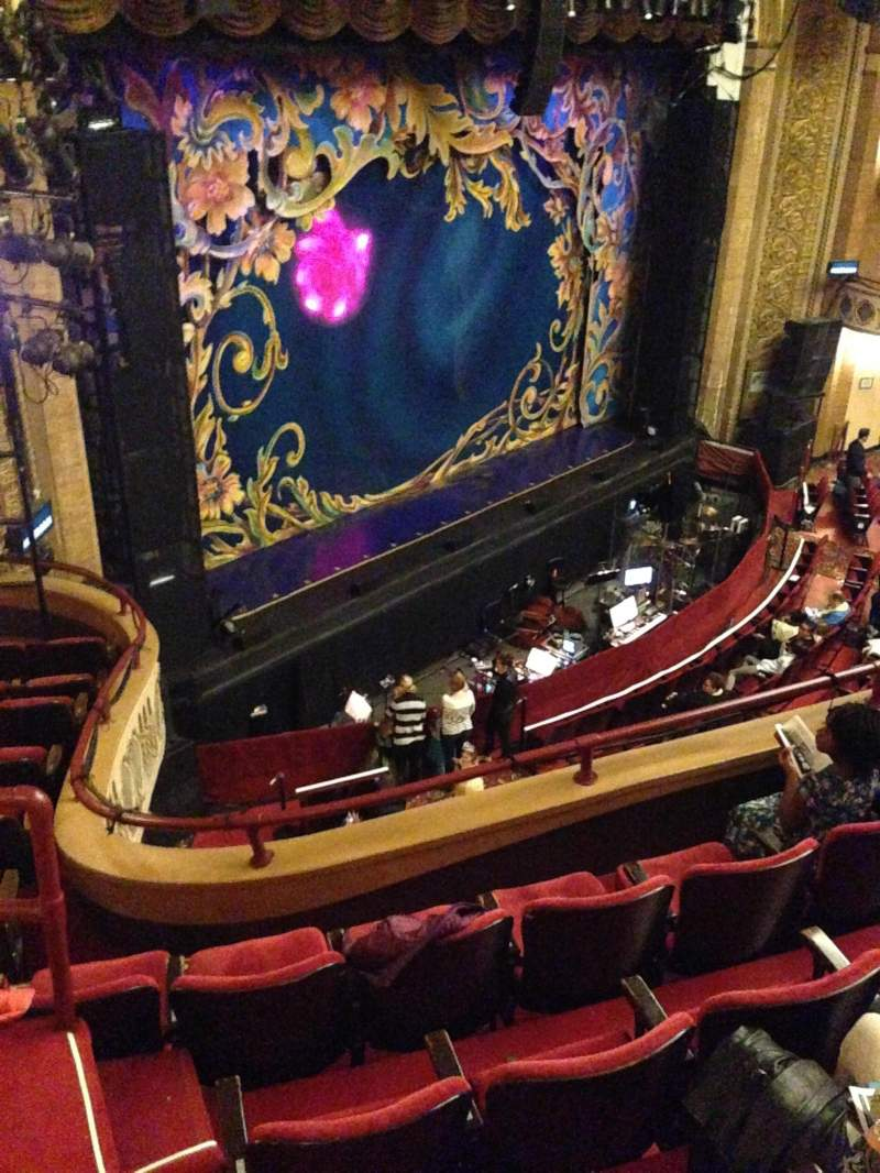 Seating view for Palace Theatre (Stamford) Section Mezzanine Row C Seat 17
