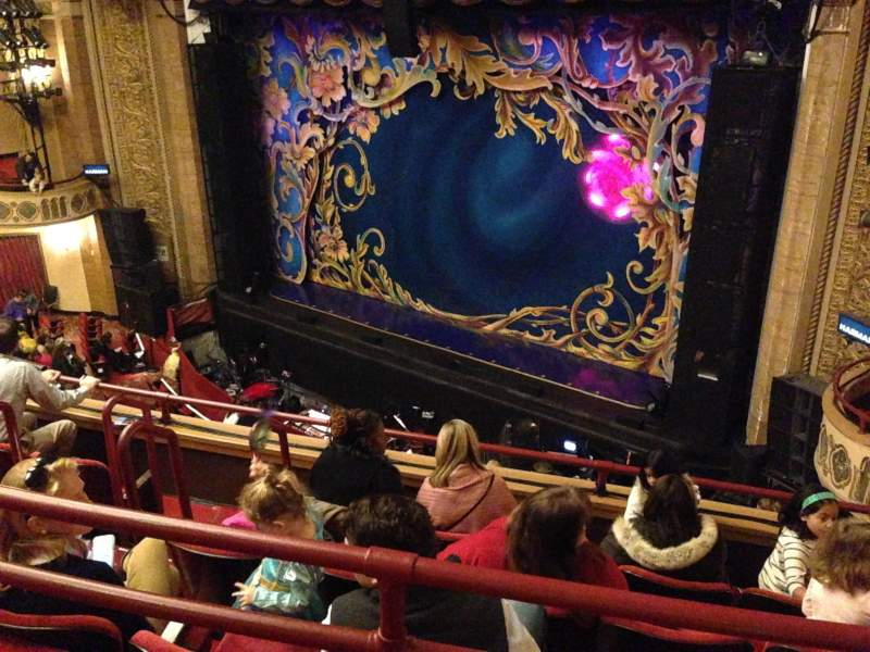 Seating view for Palace Theatre (Stamford) Section Mezzanine Row E Seat 8