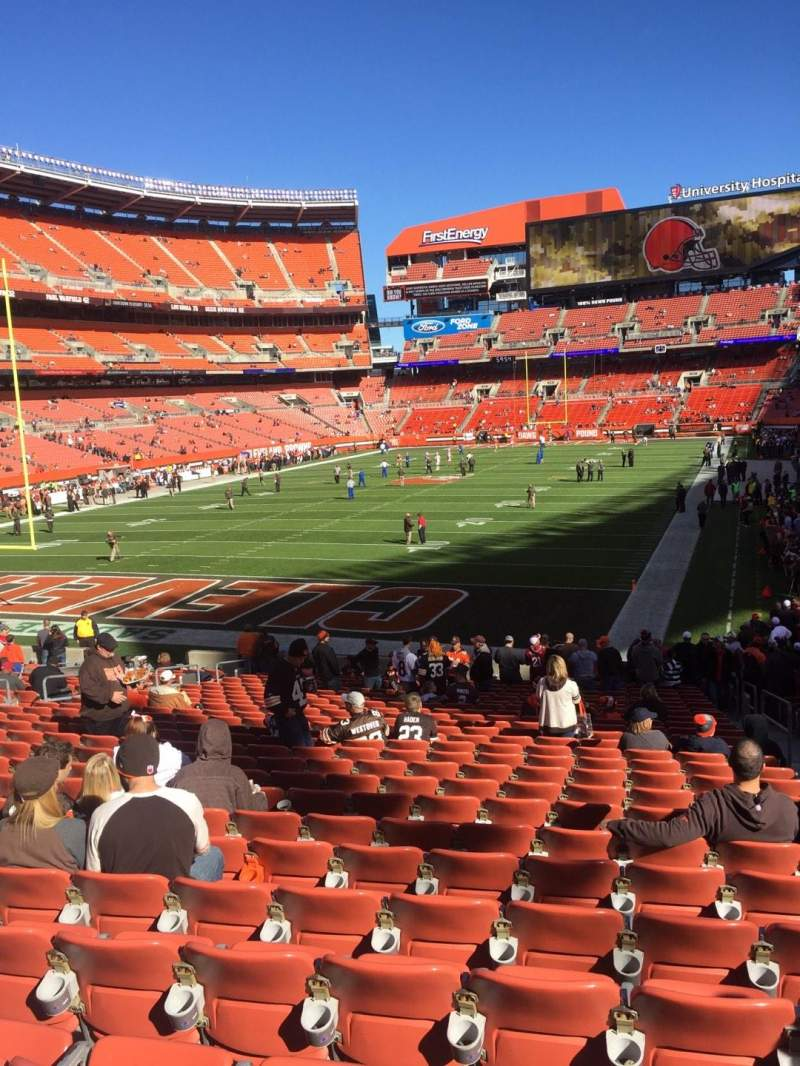 Seating view for FirstEnergy Stadium Section 149 Row 23 Seat 15
