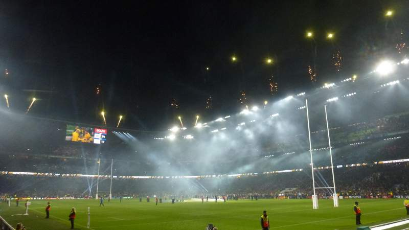 Seating view for Twickenham Stadium Section L18 Row 7 Seat 254
