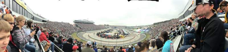 Seating view for Martinsville Speedway Section 108 Row 27 Seat 9