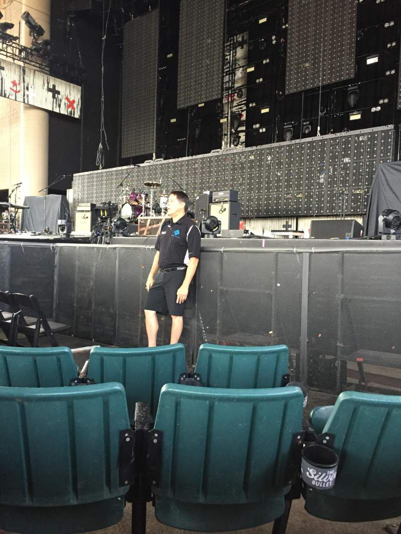 Seating view for Ruoff Home Mortgage Music Center Section C Row H Seat 10