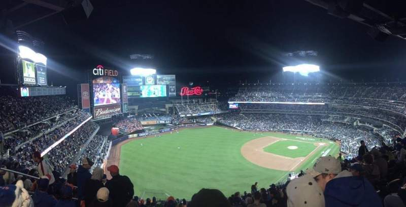 Seating view for Citi Field Section 527 Row 16 Seat 18