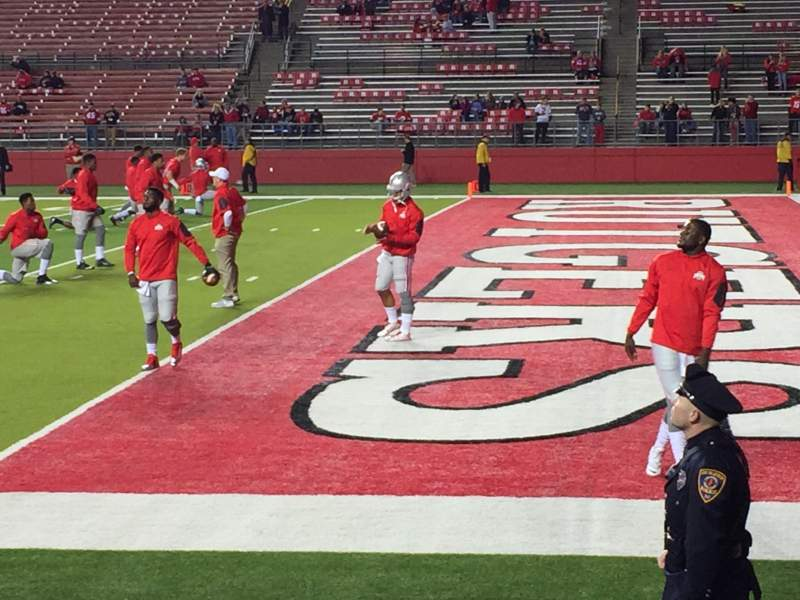 SHI Stadium, section 123, row 1, seat 1 - Rutgers Scarlet ...