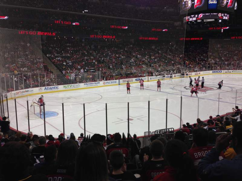 Seating view for Prudential Center Section 16 Row 14 Seat 13