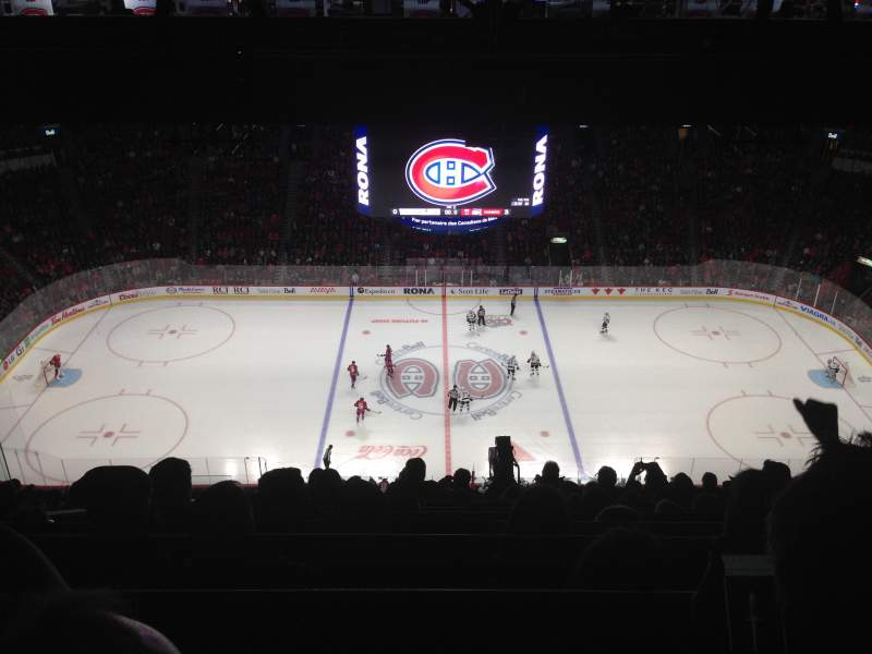Seating view for Centre Bell Section 401 Row C Seat 8