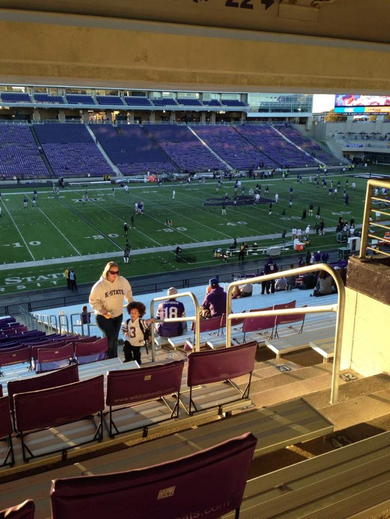 Seating view for Bill Snyder Family Stadium Section 21 Row 46 Seat 2
