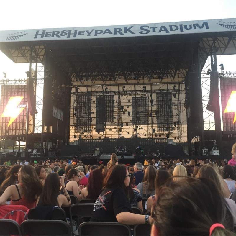 Seating view for Hershey Park Stadium Section B Row 35 Seat 15