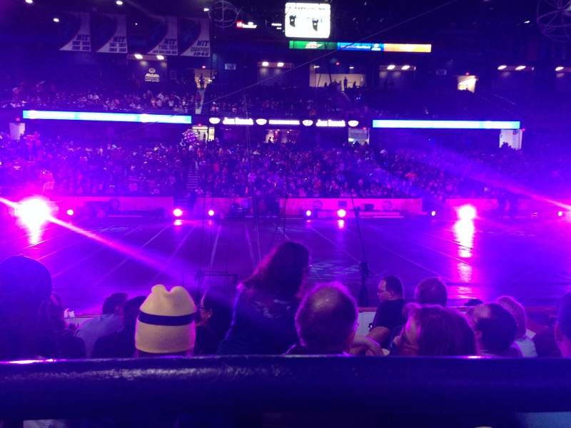 Seating view for Allstate Arena Section 111 Row A Seat 24