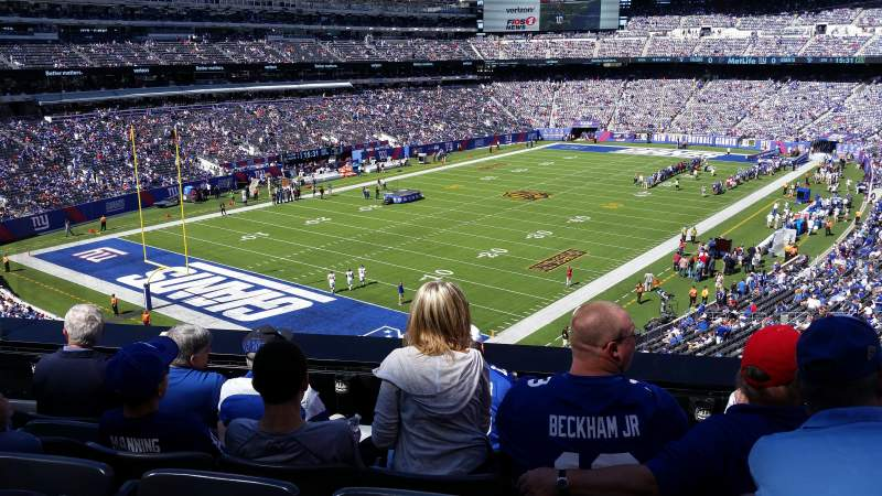 MetLife Stadium, section: 221A, row: 5, seat: 15