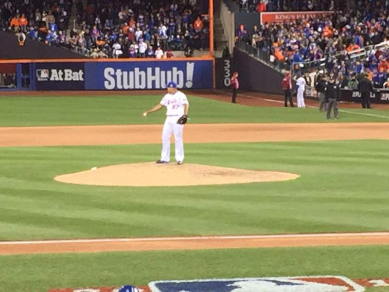 Seating view for Citi Field Section 121 Row 3