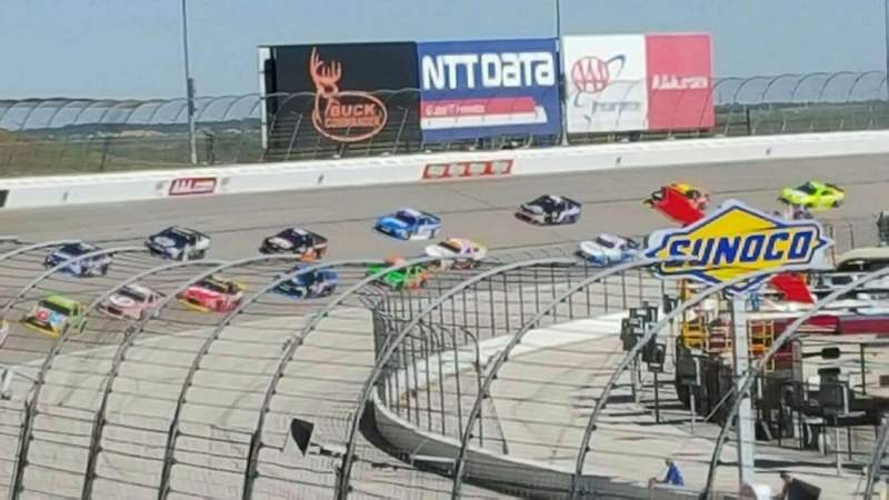 Seating view for Texas Motor Speedway Section 422 Row 15