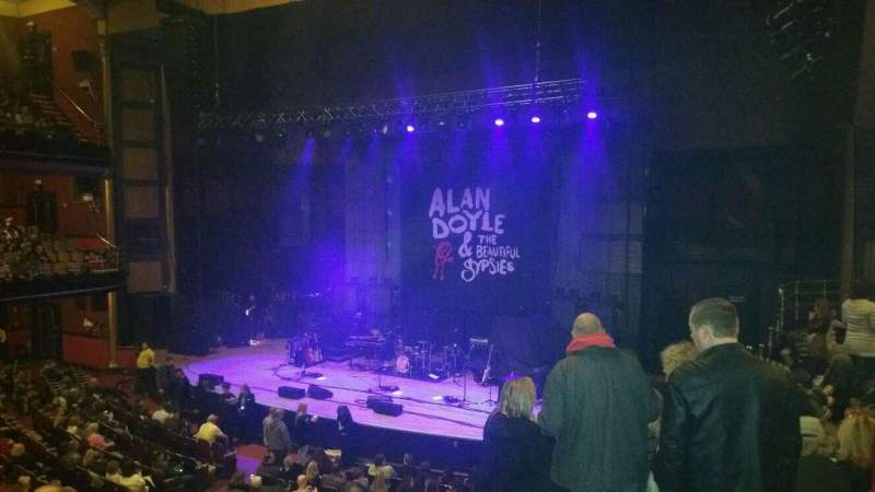 Seating view for Massey Hall Section r balcony Row f Seat 89