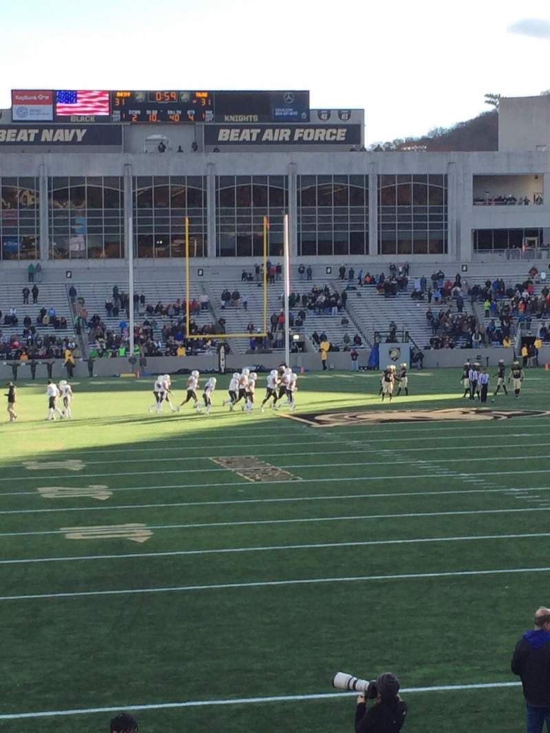 Seating view for Michie Stadium Section 24 Row O Seat 10