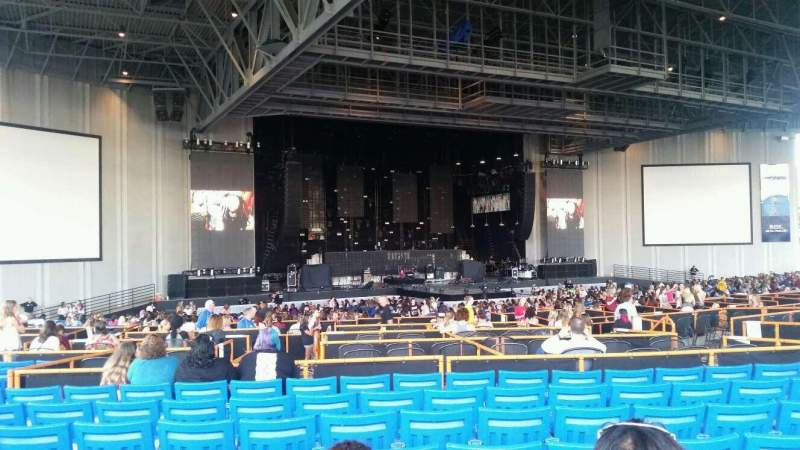 Seating view for PNC Music Pavilion Section 8 Row Q Seat 15
