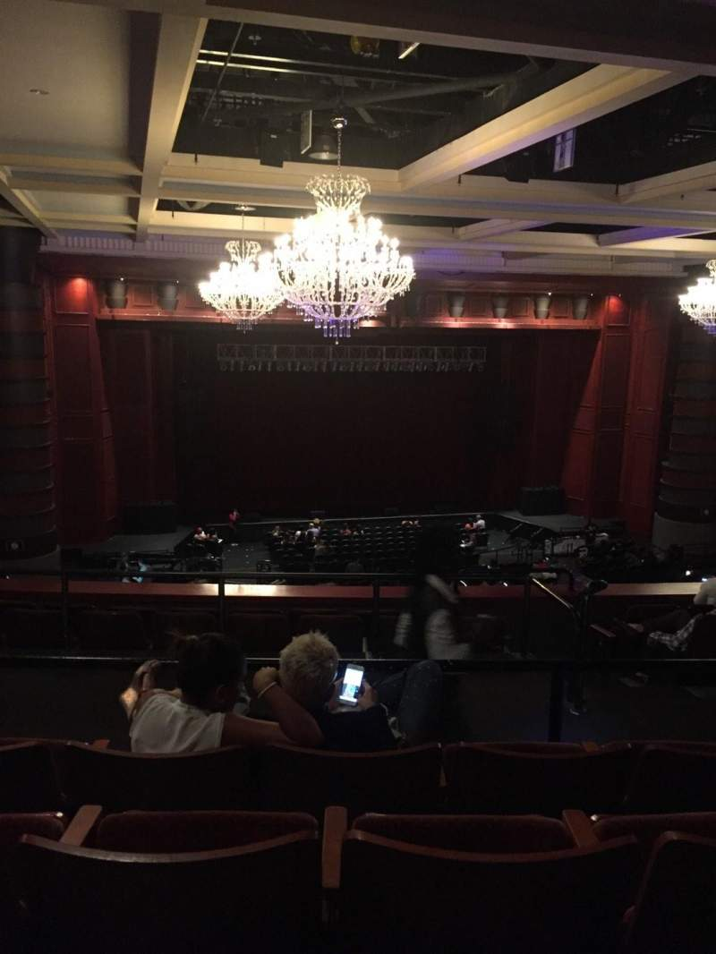 Seating view for The Fillmore Miami Beach at Jackie Gleason Theater Section Mez Row N Seat 9