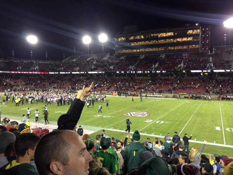 Seating view for Stanford Stadium Section 130 Row N Seat 20