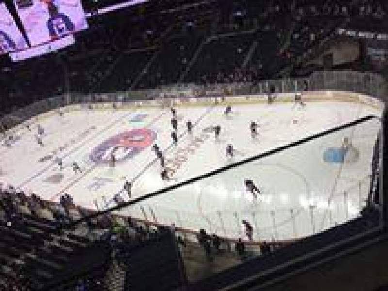 Seating view for Barclays Center Section 203 Row 2 Seat 13