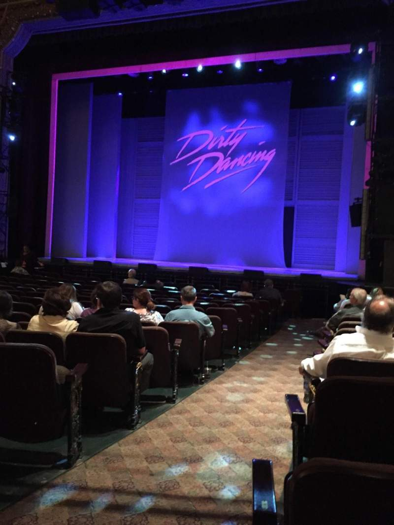 Seating view for Hippodrome Theatre Section Orchestra Right Row M Seat 2