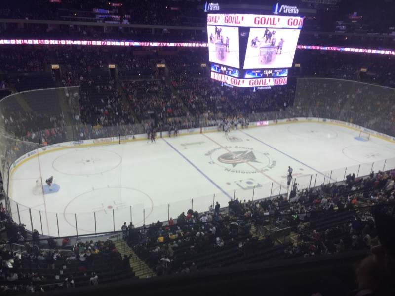 Seating view for Nationwide Arena Section 219 Row B Seat 14