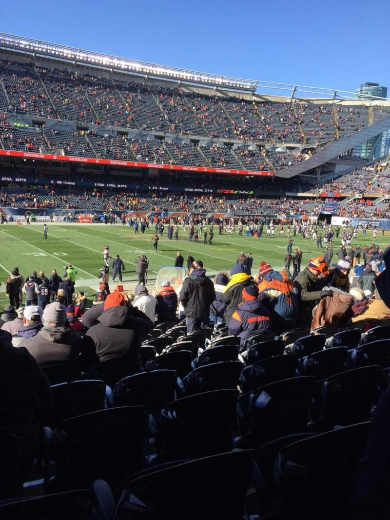 Seating view for Soldier Field Section 112 Row 14 Seat 6