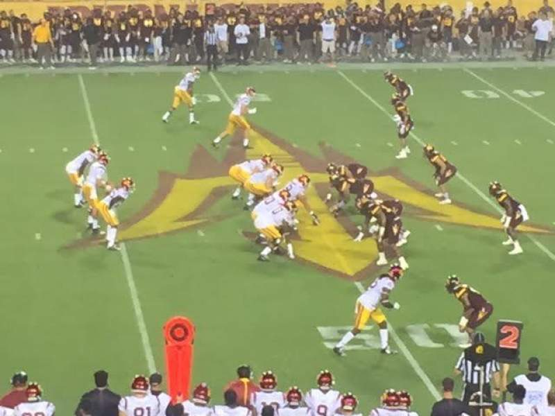 Seating view for Sun Devil Stadium Section 30 Row 35 Seat 1